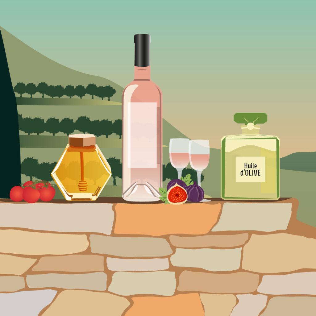 degustation de vin rosé dans le var cet été 2020