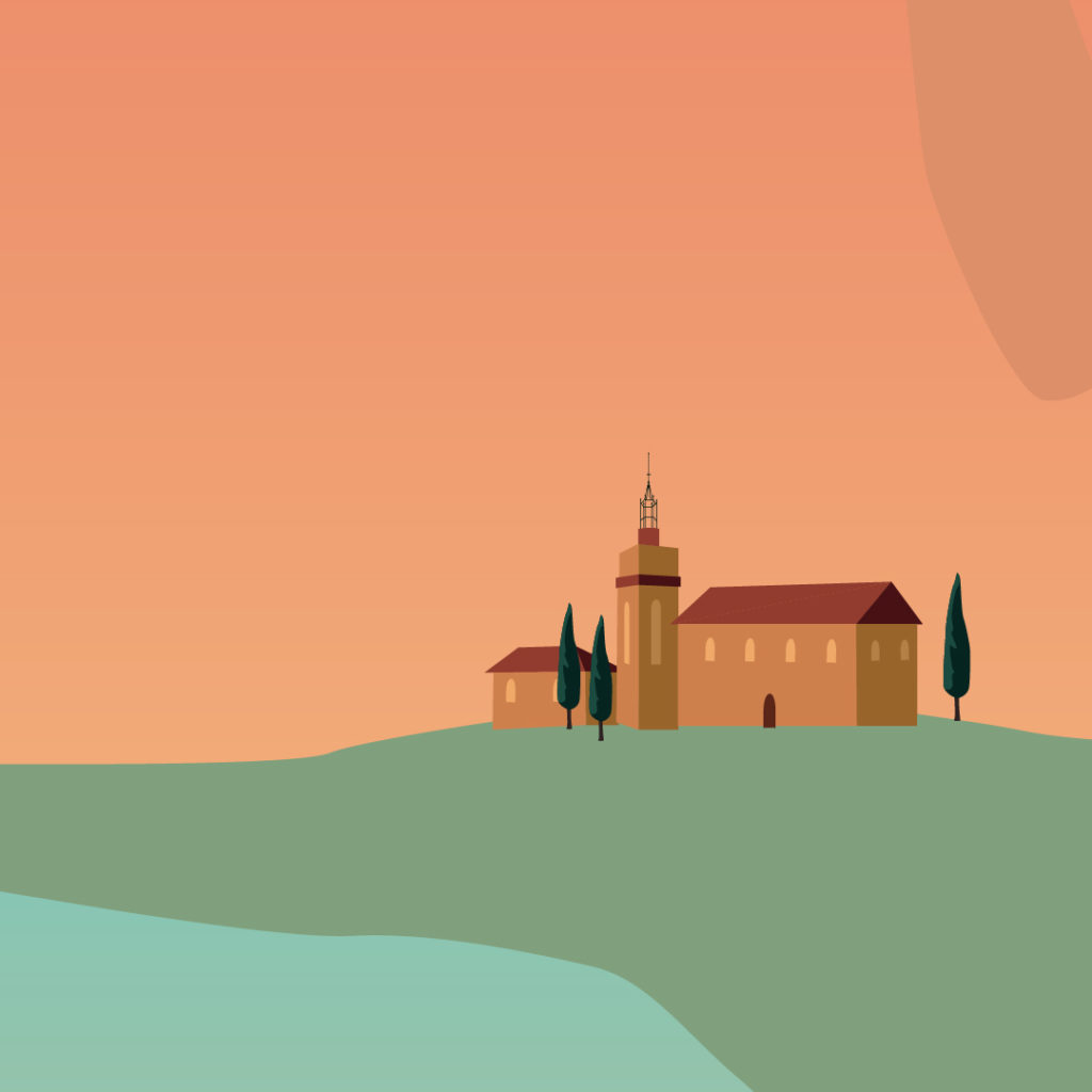 La crau et ses domaines viticoles